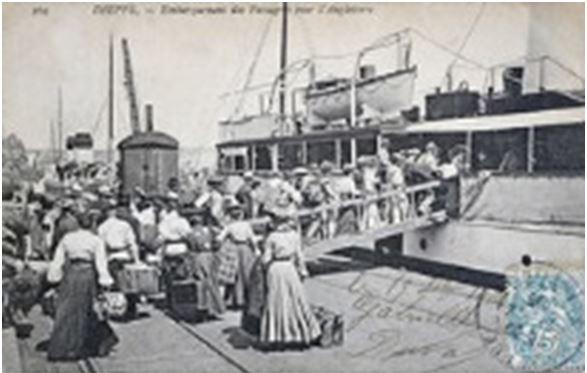 The Foundresses Set Sail